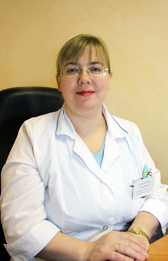 Кузнецова Любовь Владимировна, кафедра акушерства и гинекологии