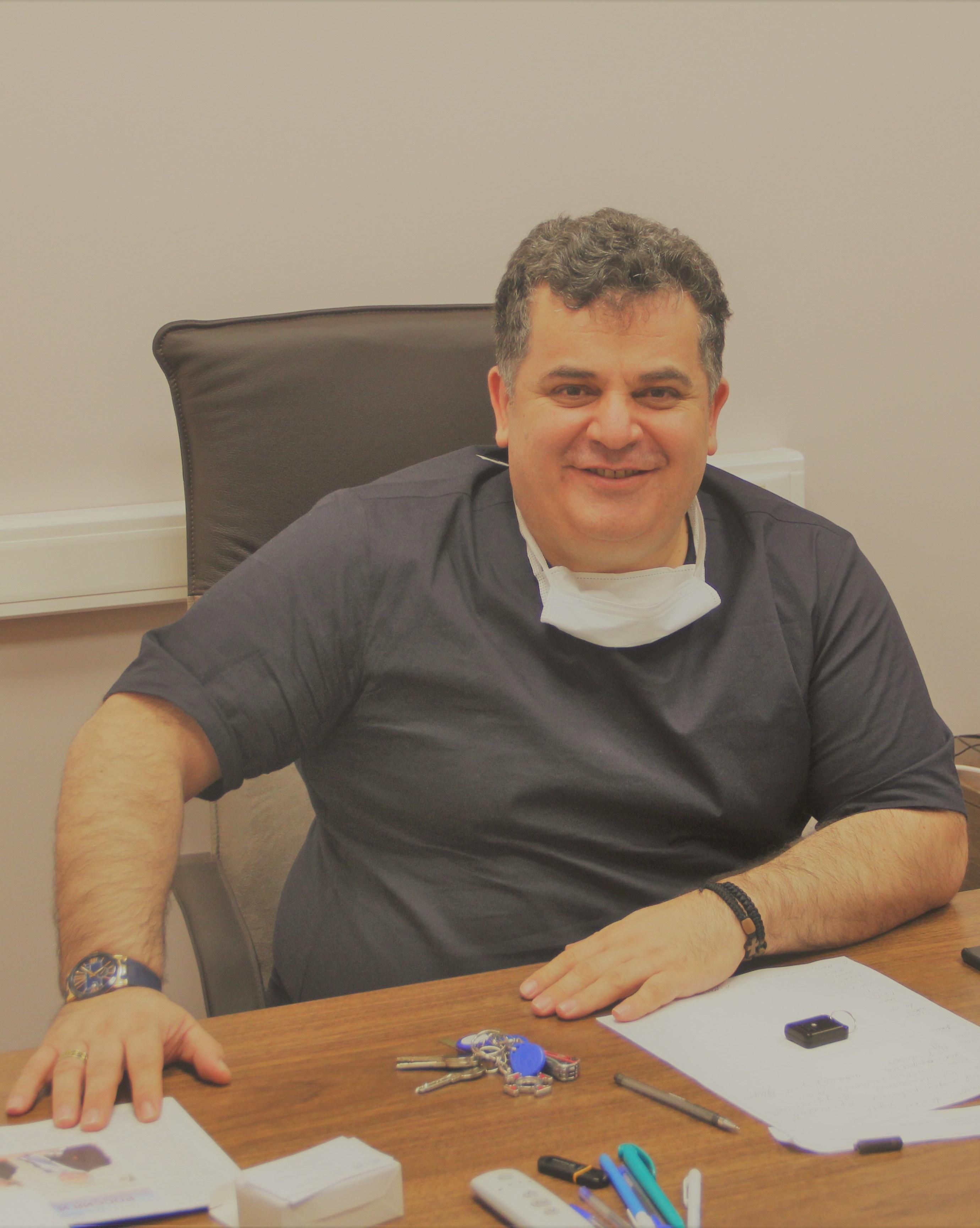 Мосоян Михаил Семенович, кафедра урологии с курсом роботической хирургии