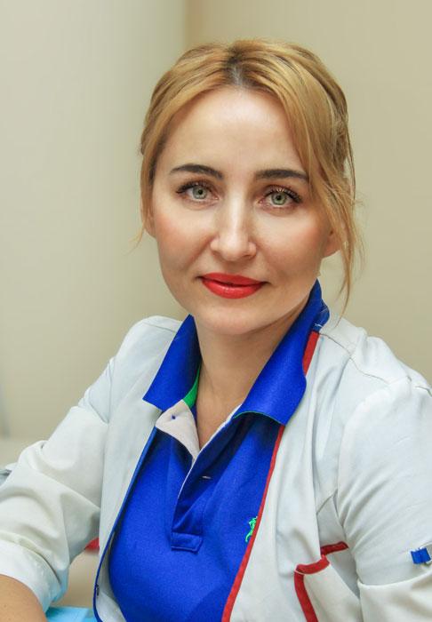Васичкина Елена Сергеевна, кафедра детских болезней