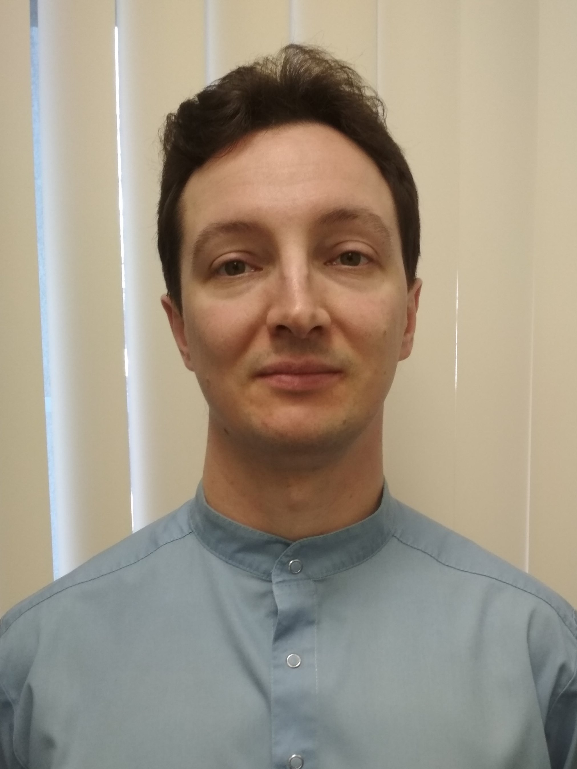 Чистяков Василий Сергеевич, кафедра анестезиологии и реаниматологии